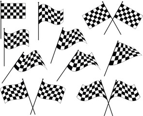 Race Flag Various Designs, Vinyl Ready