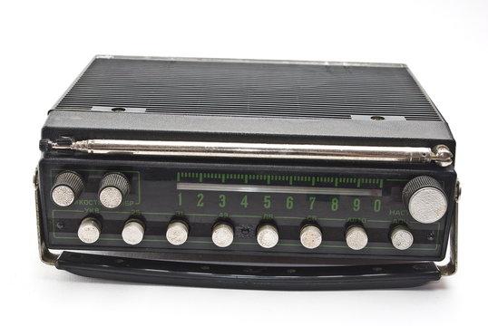 Old auto radio