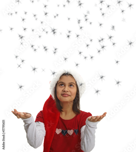 Catch A Christmas Star.Catch A Christmas Star Stock Photo And Royalty Free Images