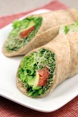 sandwich wrap organic style