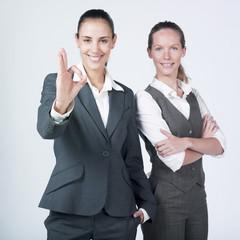 femmes d'affaires symbôle impeccable