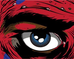 Comic book - eye
