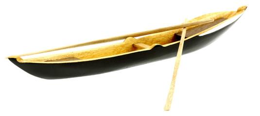 barque rames fond blanc