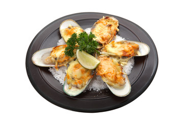 fried clams in salt