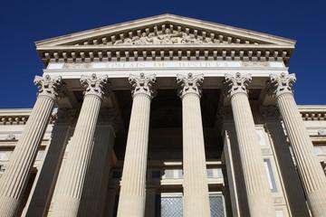 les colonnes de la justice