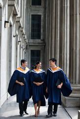 Graduates Chatting