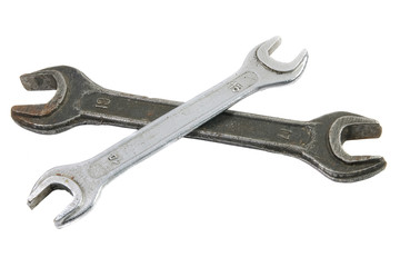 two old Spanner / wrench