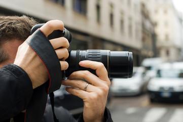 Fotografo paparazzo