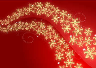 Red and Gold Chritmas