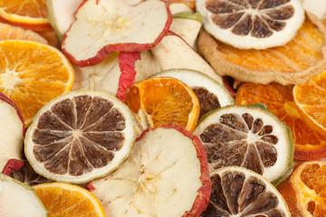 Orangen-Apfel-Zitrone Potpourri
