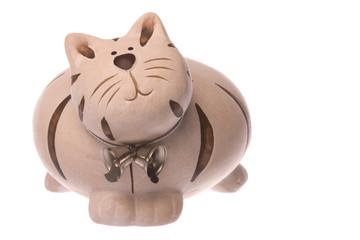Kitty Bank Isolated