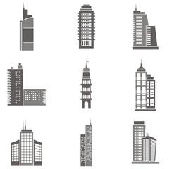 Vector Skyscraper Illustrations