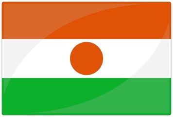 drapeau glassy niger flag