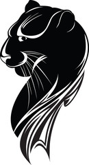 head of the black panther