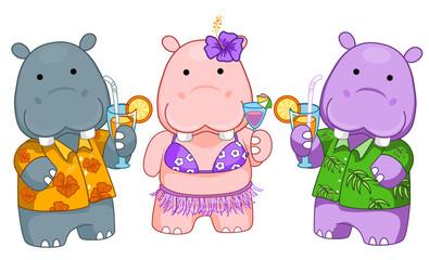 Summer Hippos