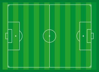 campo da calcio, illustrazione