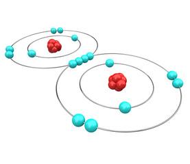 Oxygen - Atomic Diagram