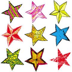 nine christmas star