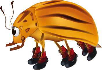 potato bug from a cartoon film