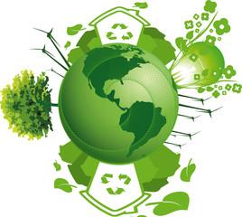 terre écologie et énergie renouvelable