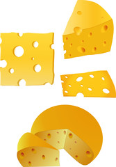 Wall Murals Baby room cheese