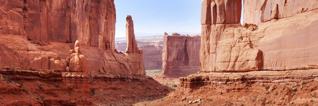 mountain at arches national park