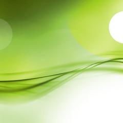 abstract artistic green 3-d wallpaper