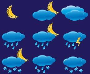 Night weather icon
