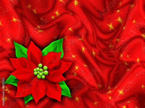 Stella Di Natale Auguri Christmas Card Fleur D Amour Noel Stock