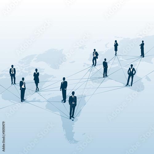 Global player netzwerk und business stockfotos und for Business netzwerk