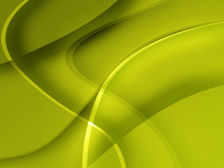 Yellow Mac-style abstract background