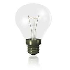 Light bulb off