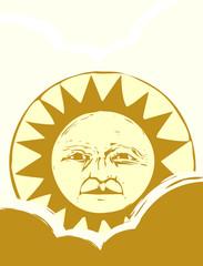 Sun Face #1