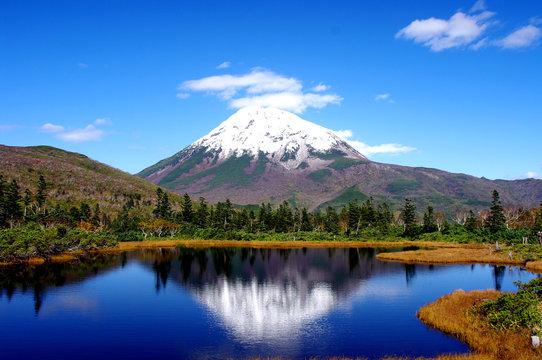 羅臼岳の秋