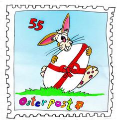 Ostern Osterpost