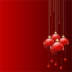 Red colors Christmas