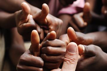 Zelfklevend Fotobehang Afrika ok