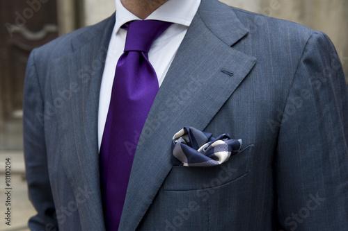 Piegare Pochette Uomo Matrimonio : Quot uomo in giacca e cravatta fazzoletto nel taschino