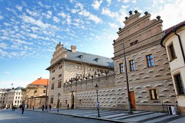 Palais Schwarzenberg auf dem Hradschin-Platz in Prag
