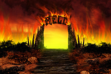 The HELL on fire