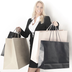 shopping taschen frau