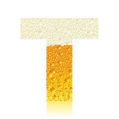 alphabet beer T