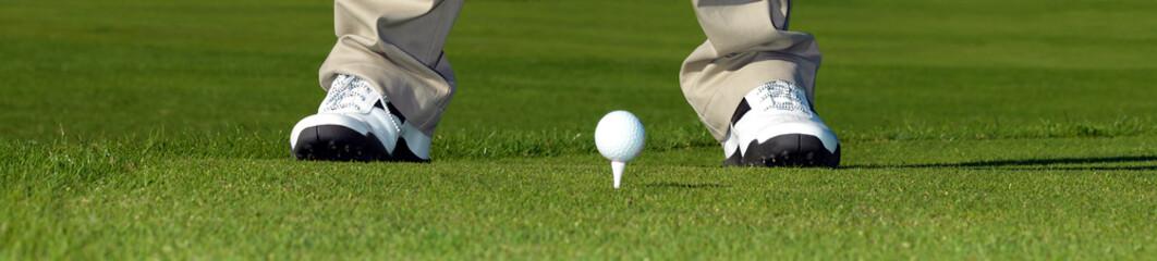 Golf Banner - Abschlag