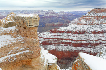 After Snow Storm, Grand Canyon, AZ