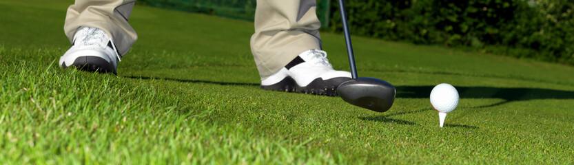 Golf Banner - Driving