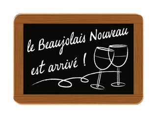 ardoise beaujolais nouveau