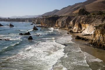 Felsenküste in Kalifornien USA