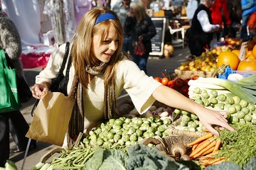 Buying Carrots at Bridport