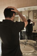 faux miroir