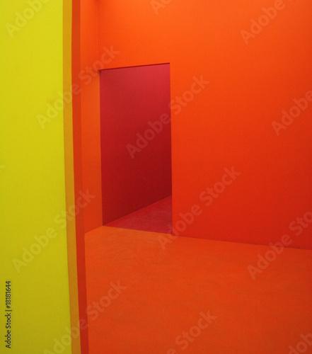 """Parete giallo e arancio"""" immagini e fotografie royalty free su ..."""